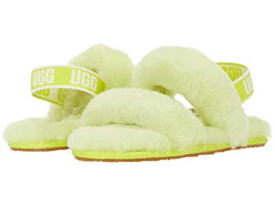 UGG Kids Oh Yeah (Toddler/Little Kid) (Sulfur) Girls Shoes