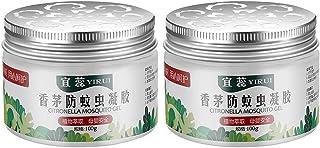 100G Vegetable Essential Oil Liquid For Bedroom And Kitchen Anti- Mosquito Citronella Gel Liquid (2 Bottles/Bag Total 200...