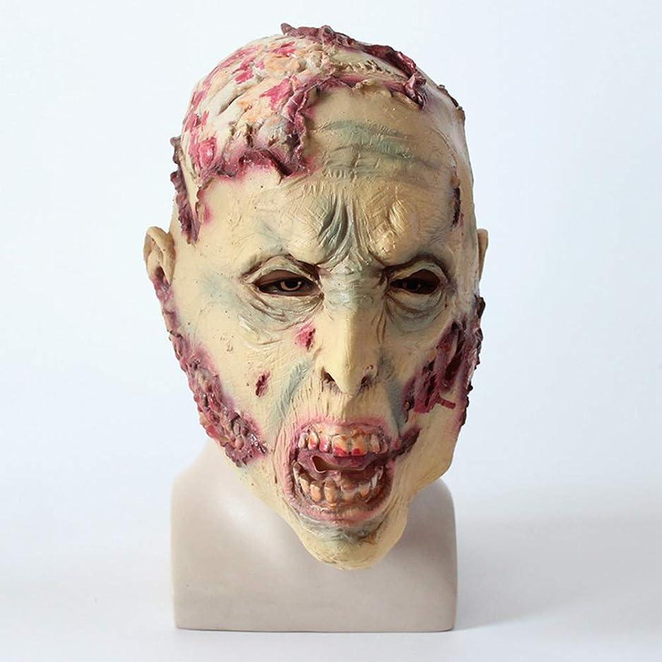 病解明しないでくださいハロウィーンホラーマスク、嫌なゾンビマスク、バイオハザードヘッドマスク、パーティー仮装ラテックスマスク