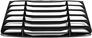 DNA MOTORING ZTL-Y-0031 Rear Window Matte Vent Louver Style Windshield Sun Shade Cover