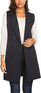 Best long sleeveless blazer womens Reviews