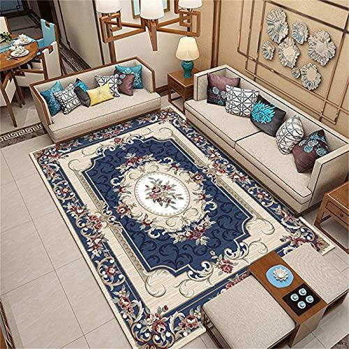 Estilo De Impresión De Lujo con Luz Nórdica, Alfombra De Balcón para Dormitorio Y Sala De Estar, Cojín De Suelo Personalizado Y Cojín De Sofá 120x160cm