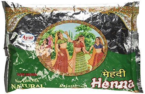 Ayur Rajasthani Henna (Mehandhi) Powder, 150G