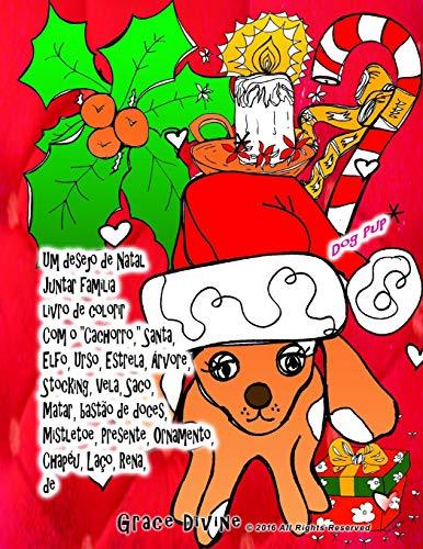 Um desejo de Natal Juntar família livro de colorir Com o