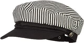 e4Hats.com Unisex Striped Cotton Adjustable Greek Sailor Hat