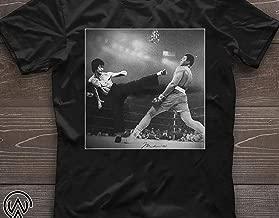 Muhammad ali and bruce lee poster shirt T-shirt, Unisex Hoodie, Sweatshirt For Mens Womens Ladies Kids