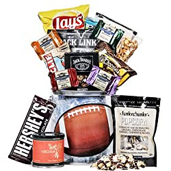 Thank You Gifts for Football Coaches always include snacks!