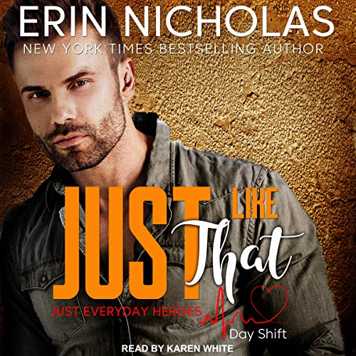 Just Like That audiobook cover art