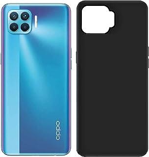 Oppo A93 / Oppo F17 Pro/Reno 4 F Case Cover Slim Flexible Silicone Soft TPU Rubber Black Cover for Oppo A93 / Oppo F17 Pr...