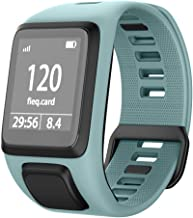NotoCity Silicone Watch Band Replacement for Spark/Spark 3/Golfer 2/Adventurer/Runner 2/3 Smartwatch for Man Women(Teal)