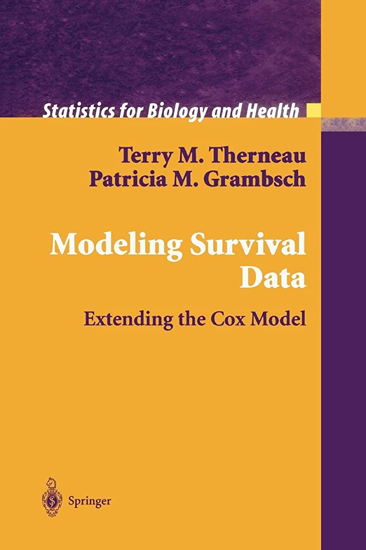 生命体ロール嬉しいですModeling Survival Data: Extending the Cox Model (Statistics for Biology and Health)