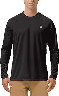 Roadbox Men's Long Sleeve Sun Protection UPF 50+ UV Outdoor Dri-fit T-Shirt Rashguard for Running, Fishing, Hiking