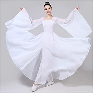 Women Red Traditional Chinese Costume Stage Performance Folk Dress Hanfu Stage Costume Yangko Dance Costumes