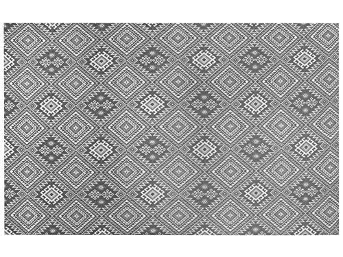 Friedola Outdoorteppich Lounge - Anthrazit - 120x170 cm, Vorzeltteppich Wasserdurchlässig, rutschfest, Weichschaumteppich für Terrasse, Balkon oder Camping