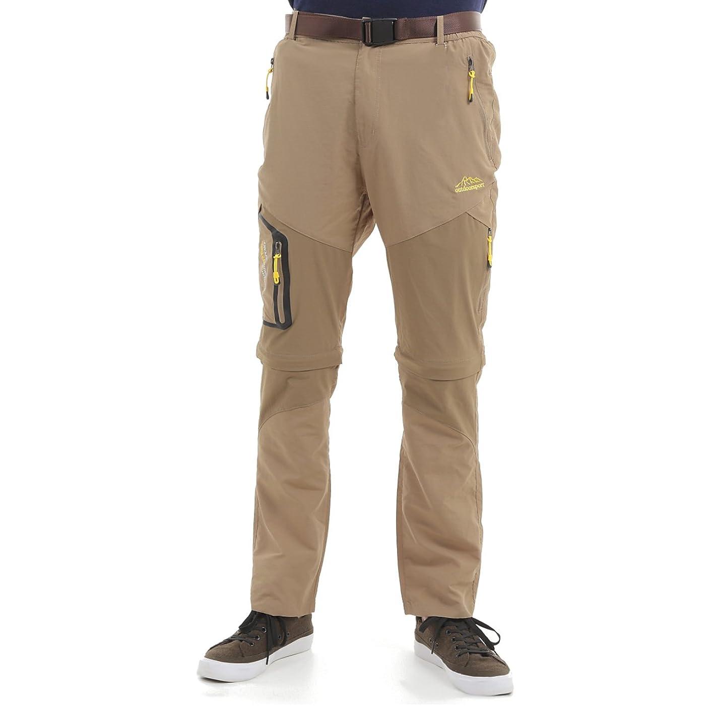 合理的ご近所対応i-loop 2way ドライパンツ ハーフパンツ コンバーチブル 速乾 透湿 通気 軽量 フィッシング パンツ メンズ