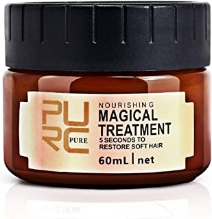 Hair Treatment Mask, Deep Conditioner for Dry or Damaged Hair, Hair Care, Repair Damaged Hair Root Hair Keratin Hair and Scalp Treatment, For All Hair Types, Men & Women (One Bottle)