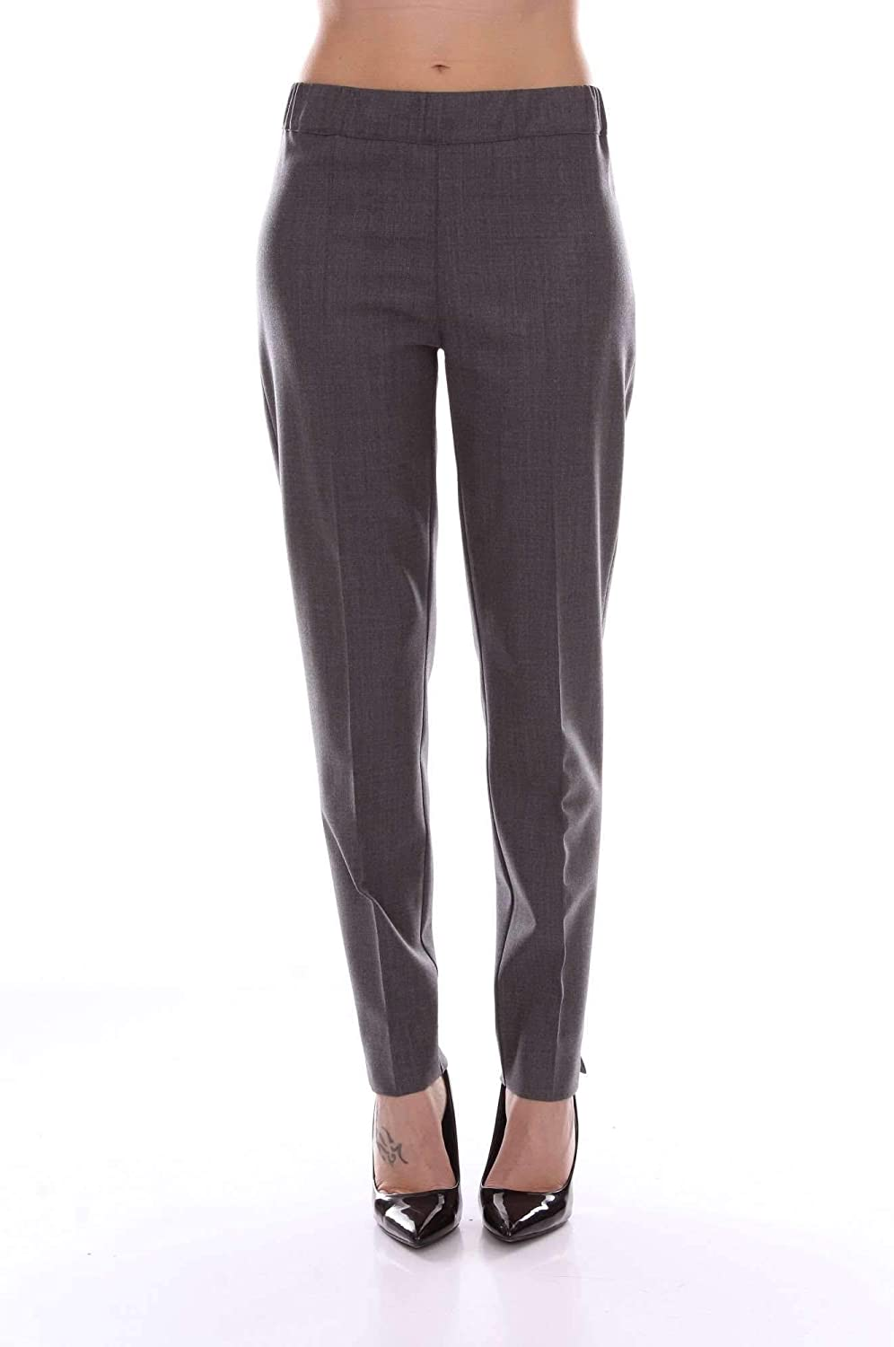D.Exterior Women's 47909GREY Grey Viscose Pants