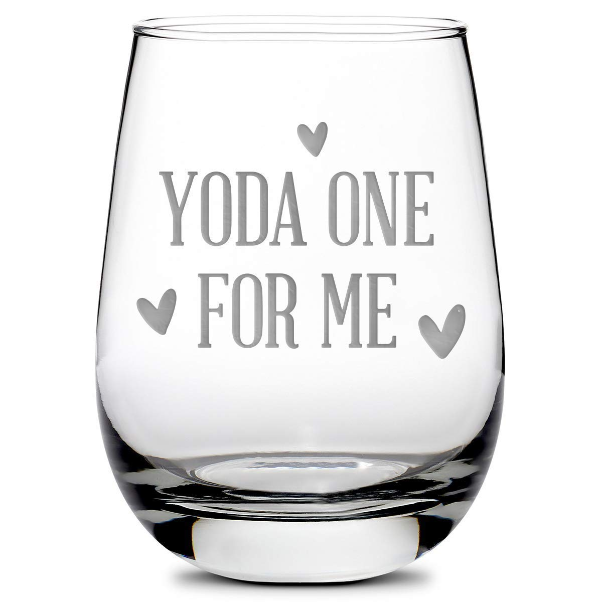 Integrity Bottles Premium Stemless New mail order Wine Glass - Fo Baby Yoda sale One