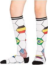 Sock It To Me, Kick It, Junior Knee-High Socks, Futbol, Soccer Country Flag Socks
