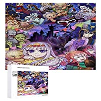 魔王城でおやすみパズル 子供 ジグソーパズル 木製パズル 知育玩具 最高のギフトの選択 レジャー エンターテイメントパズル 300/500/1000ピ