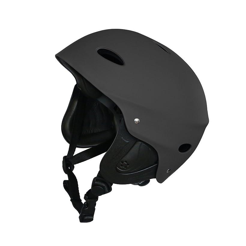 宙返り装置貢献するVihir スポーツヘルメット カヌー カヤック 登山 クライミング ウォータースポーツヘルメット安全保護 耐水仕様 男女兼用
