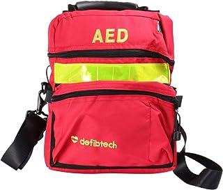کیسه کمک های اولیه ARTIBETTER کیف خنک کننده دفیبریلاتور نجات مسافرتی کیسه AED Medical Responder Storage Responder Storage Survival Trauma کوله پشتی اضطراری برای کمپینگ پیاده روی (قرمز)