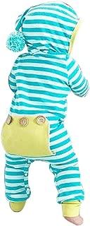 Sharemen Baby Boy Girl Cute Hooded Romper Bodysuit Clothes