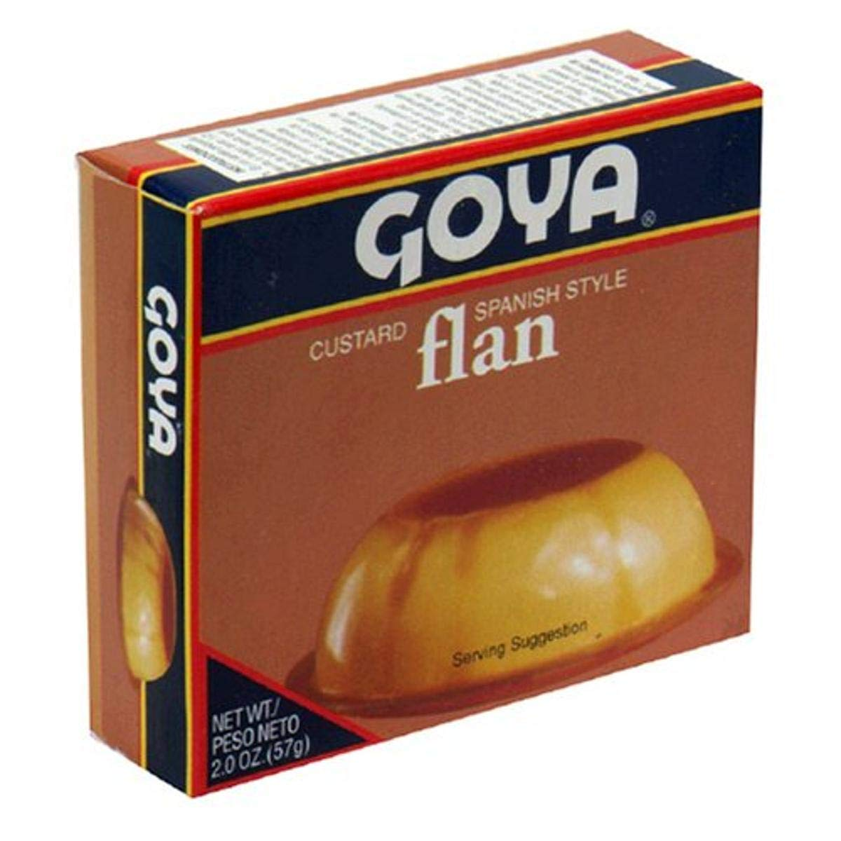 Goya Flan Custard 2-Ounce 36 OFFicial Max 63% OFF store of Boxes Pack