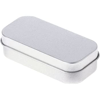 hgfcdd Mini portátil rectangular con bisagras Caja de ...