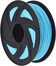 3D Printer Filament - 1KG (2.20 lbs) The Diameter of 3 mm, Dimensional Accuracy PLA Multiple Color, Sky Blue