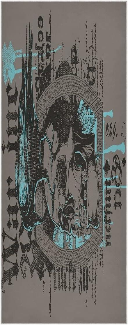 Popularity FVFV Kingdom Crow Skull Yoga In stock Towel Slip Mat Super Soft Odorl Non