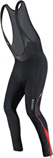 Santic Cycling Bibs Pants Mens Long Tights 3D Padded Bike Legging