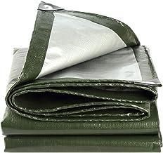 Wang Heavy Duty dekzeil Verdikte dekzeil Lichtgewicht materiaal Waterdichte dekking Isolatie outdoor tent 190g/㎡, 0.35mm K...