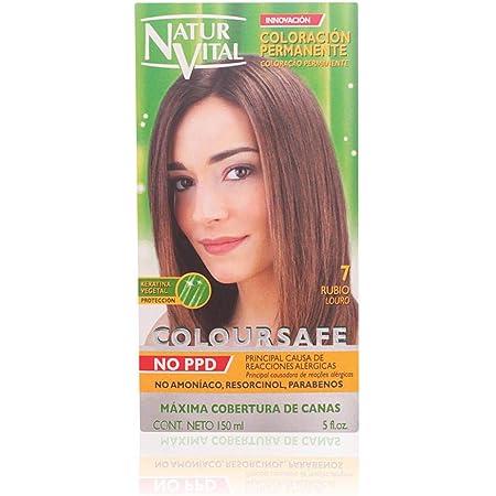 Naturaleza y Vida Coloursafe Tinte Permanente Tono 7 Rubio - 150 ml