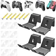 OIVO Game Controller Houder Hanger Muur voor PS4 Nintendo Xbox One/S/X/Elite/Serie S/X, Universele Opvouwbare Bureau Haak ...