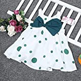 Zoom IMG-2 neonate summer dress bowknot ruffle