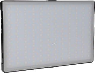 Rollei Lumis Slim LED L RGB LED Dauerlicht, Videoleuchte mit 396 LED´s,3200K 5600K,24 W, 21 Effekte,360 Farbnuancen und 2180 lux (0.5m bei 5500K)