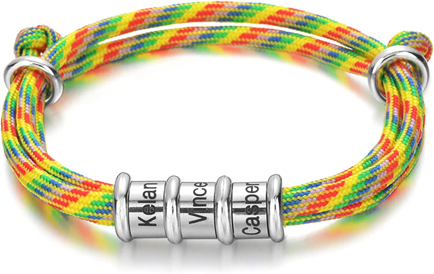 Brand Cheap Sale Venue soulglass Personalized Mens Rope Adjustable Braided wit Free shipping on posting reviews Bracelet