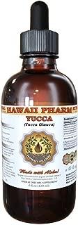 Yucca Liquid Extract, Yucca (Yucca Glauca) Tincture, Herbal Supplement, Hawaii Pharm, Made in USA, 2 fl.oz