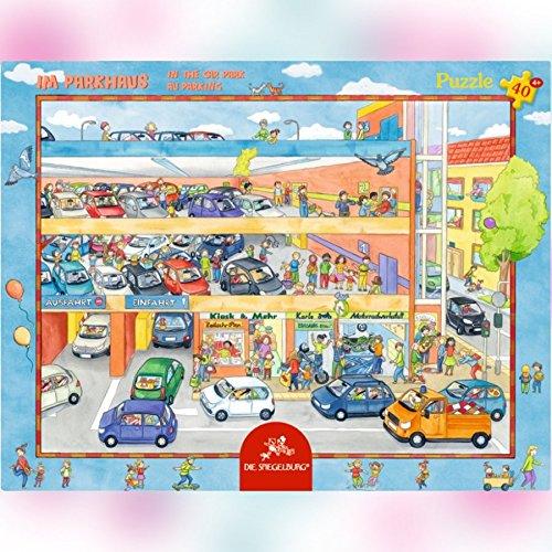 Rahmenpuzzle - Im Parkhaus (40 Teile)