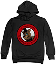 Feniay Bear I Survived Five Nights At Freddy Men's Hooded Sweatshirt