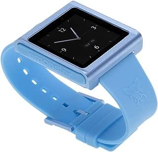 nanox - Apple iPod nano watch conversion kit (青ケース/青ベルト)