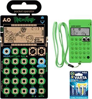 $119 » teenage engineering PO-137 Rick and Morty Pocket Operator Micro Sampler (Limited-Edition) with CA-X Silicone Pro Case for PO-137 Rick and Morty (Neon Green) & 4-Pack AAA Battery Bundle