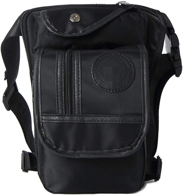 Workout Belt Sports Waist Pack Nylon Multipurpose Waist Bag for Men Motorcycle Waist Pack Waterproof Leg Bag Multipurpose for Travel Hiking Climbing Cycling Running Belt with Extender Belt