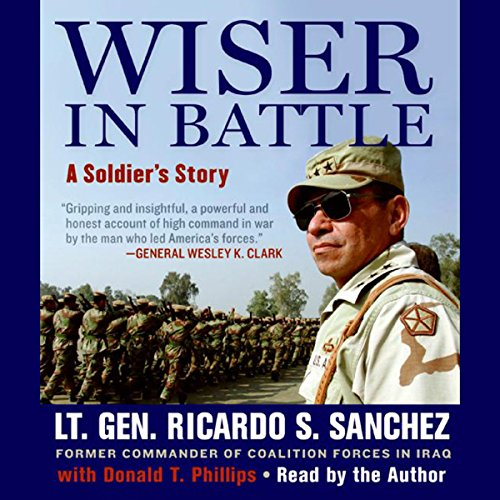 Wiser in Battle audiobook cover art