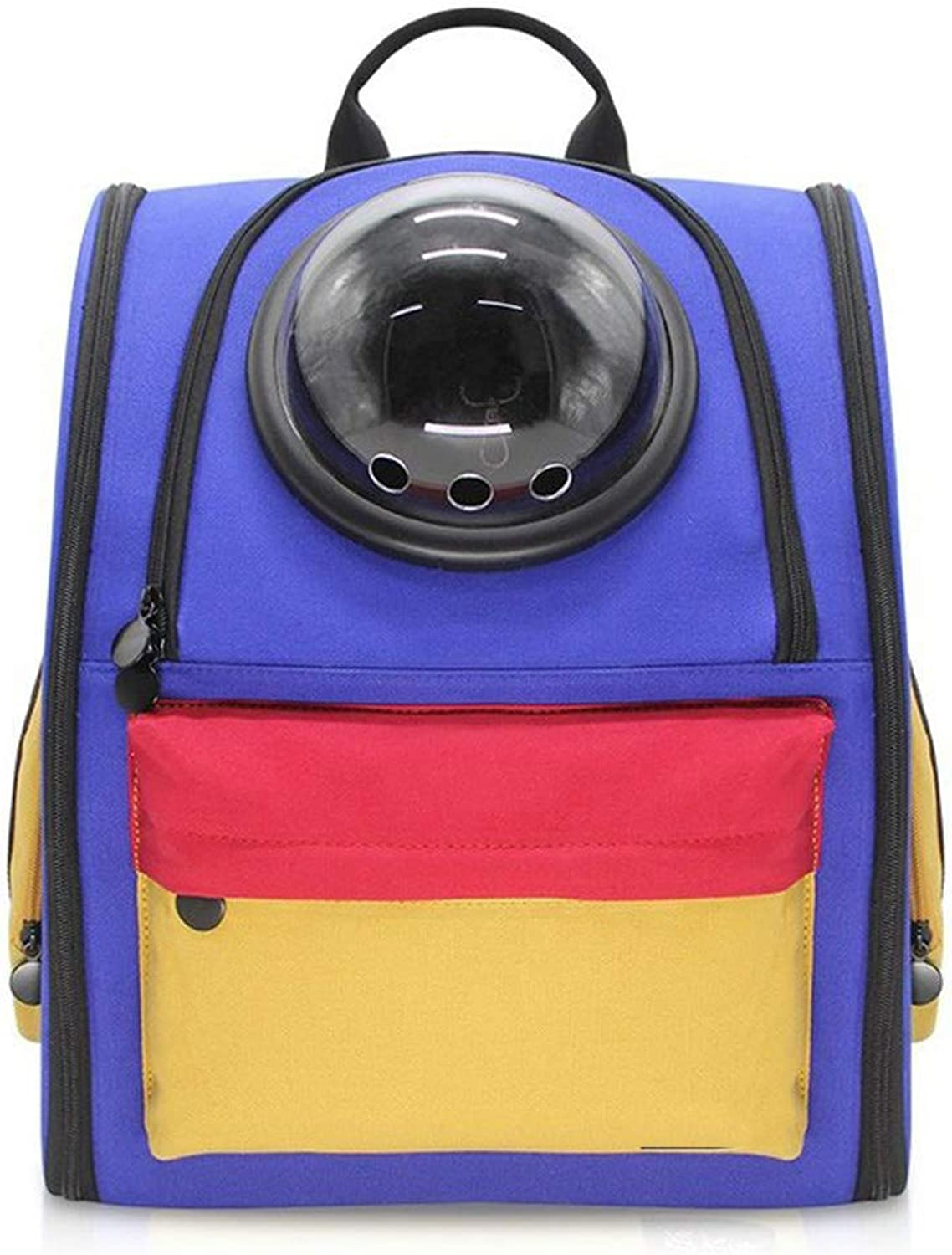 DYYTR Pet Transport Backpack For Cat Puppy For Travel Outdoor Activity Pet Transport Backpack Breathable Transparent Space Capsule Pet Carrier Backpack