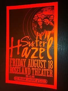 Sister Hazel Portland Oregon Roseland Theater Original Concert Tour Gig Poster
