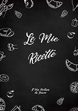 Il Mio Ricettario da Scrivere: 120 pagine in formato A4 (Italian Edition)