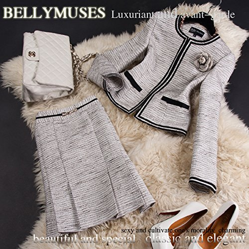 BELLYMUSESツイードスーツL