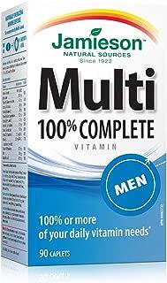 Jamieson Multi 100% Complete Vitamin - Men - 90's